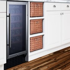 34 Bottle Single Zone Convertible Wine Refrigerator