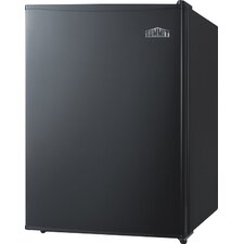2.4 cu. ft. Undercounter Compact Refrigerator with Automatic Defrost