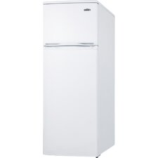 6.4 cu. ft. Compact Refrigerator with Two Door Cycle Defrost