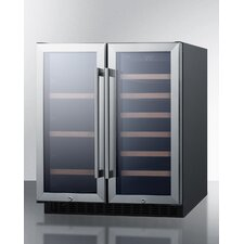 33 Bottle Dual Zone Freestanding Wine Refrigerator