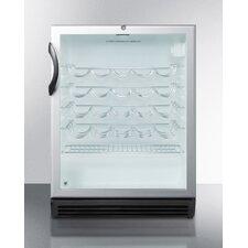 26 Bottle Single Zone Freestanding Wine Refrigerator