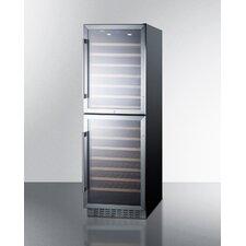 108 Bottle Dual Zone Built-In Wine Refrigerator