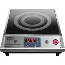 "12.63"" Electric Induction Cooktop with 1 Burner"