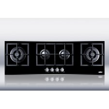 "43.38"" Gas Cooktop with 4 Burners"