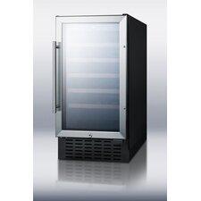 34 Bottle Single Zone Built-In Wine Refrigerator