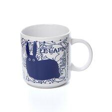 Vintage French 11 oz. Le Lapin (Rabbit) Mug