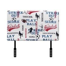 Sports Twin Upholstered Headboard