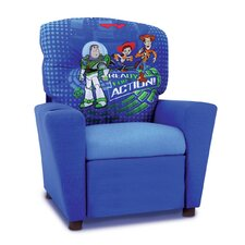 "Disney ""Toy Story 3"" Kids Recliner with Cup Holder"