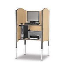 Kiosk Carrel Desk