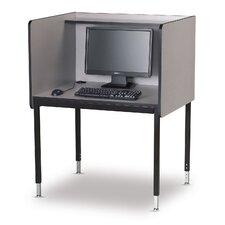 Laminate Modular Computer Carrel Starter