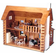 Creekside Cabin Dollhouse