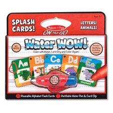 Water Wow! Alphabet Splash Flash Cards