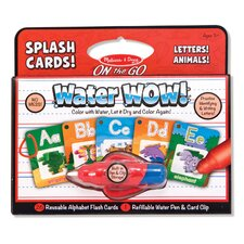 Water Wow! Alphabet Splash Flash Cards
