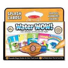 Water Wow! Shapes, Numbers and Colors Splash Flash Cards