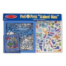 "Peel and Press ""Stained Glass"" Undersea Fantasy"