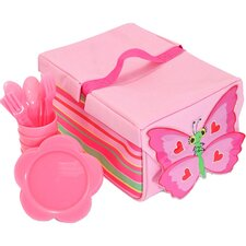 5 Piece Bella Butterfly Picnic Set