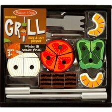 21 Piece Grill Set