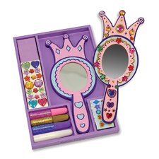 Decorate-Your-Own Princess Mirror Arts & Crafts Kit