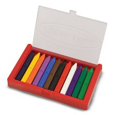 Triangular Crayon Set