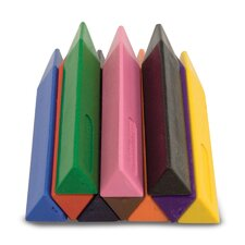 Jumbo Triangular Crayon (Set of 20)