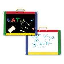 Magnetic Chalkboard & Dry Erase Board