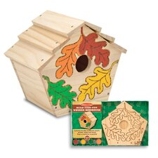 Build and Paint-Your-Own Bird House