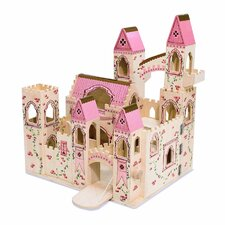 Folding Princess Castle