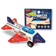 Wooden Jet Plane DYO