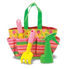 4 Piece Blossom Bright Tote Set