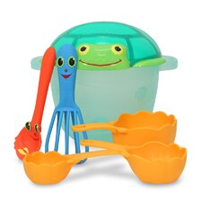 Seaside Sidekicks 6 Piece Sand Baking Set