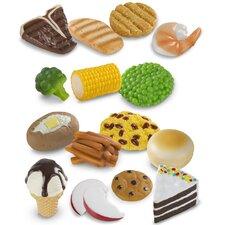 8 Piece Food Fun Combine and Dine Dinners Set