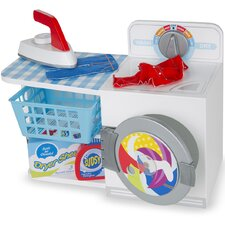 Let's Play House! 6 Piece Wash and Dry and Iron Set