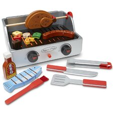 24 Piece Rotisserie and Grill Barbecue Set