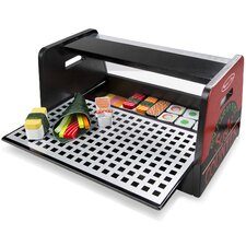 46 Piece Roll Wrap and Slice Sushi Counter Set