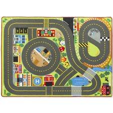 5 Piece Jumbo Roadway Activity Playmat Set