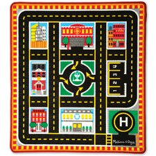 5 Piece Round The City Rescue Playmat Set