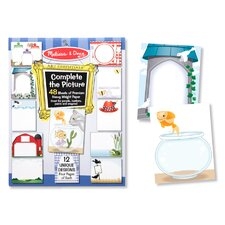 Complete the Picture Pad (Set of 2)