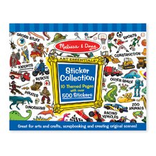 Sticker Collection in Blue (Set of 2)