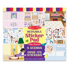 Play House! Reusable Sticker Pad