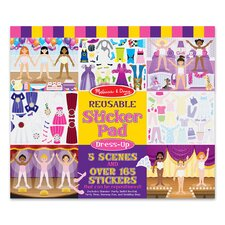 Dress-Up Reusable Sticker Pad (Set of 2)