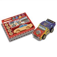 DYO Race Car Arts & Crafts Kit