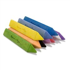 10 Jumbo Triangular Chalk Sticks (Set of 3)