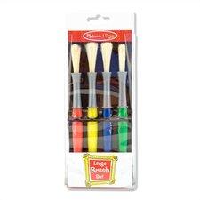Large 4 Piece Paint Brush Set (Set of 2)