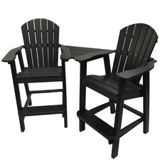 Phat Tommy 3 Piece Settee Chair Set