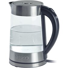 1.8-qt. Glass Drip Free Pouring Spout Water Kettle