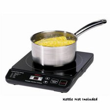 "11.5"" Electric Induction Cooktop with 1 Burner"