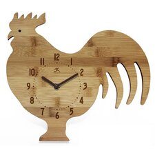 Chef Roost & Serve Wall Clock