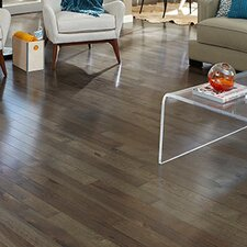 "Character 3-1/4"" Engineered Hickory Hardwood Flooring in Ember"