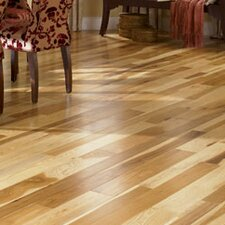 "Character 5"" Engineered Hickory Hardwood Flooring in Natural"