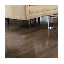 "Color Plank 5"" Solid White Oak Hardwood Flooring in Smoke"